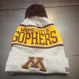 Minnesota Gophers hat.  Fleece lined.  New no tag